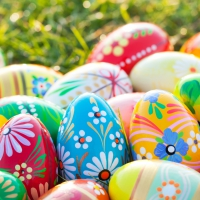 Servietten 25x25 cm - Vibrant Eggs