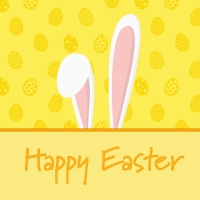 Servietten 25x25 cm - Bunny Ears
