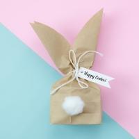 Servietten 33x33 cm - Bunny bag