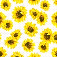 Servietten 33x33 cm - Sunflower Garden