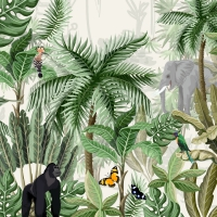 Servietten 33x33 cm - Rainforest
