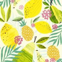 Servietten 33x33 cm - Fresh fruits