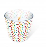 Glaskerze - Candle Glass Pride