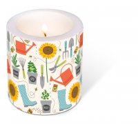 Dekorkerze - Decorated Candle Gardening