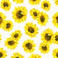 Servietten 24x24 cm - Sunflower Garden
