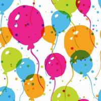 Servietten 24x24 cm - Splash Balloons