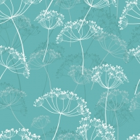 Servietten 33x33 cm - Hovering Flowers