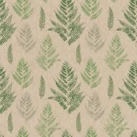 Servietten 33x33 cm - Farn pattern
