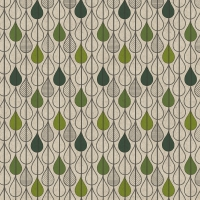 Servietten 33x33 cm - Leaf drops