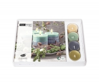 Combibox  - Four green candles