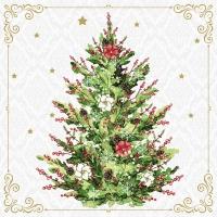 Servietten 40x40 cm - Christmas Tree