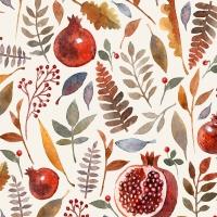 Servietten 24x24 cm - Pomegranate