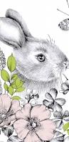 Taschentücher - Graphite Bunny
