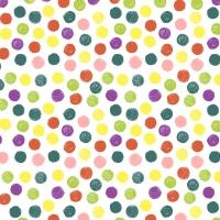 Servietten 33x33 cm - Playful dots