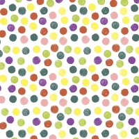 Servietten 24x24 cm - Playful dots