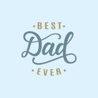 Servietten 33x33 cm - Best dad