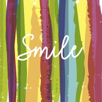Servietten 24x24 cm - Smile