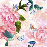 Servietten 24x24 cm - Lovely spring