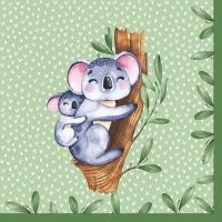 Servietten 33x33 cm - Koalas