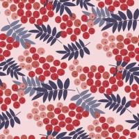 Servietten 33x33 cm - Rowan berries