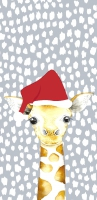 Taschentücher - Giraffe Santa