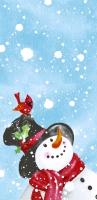 Taschentücher - Happy snowman