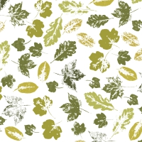 Servietten 24x24 cm - Stamped leaves