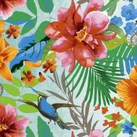Servietten 33x33 cm - Tropical paradise