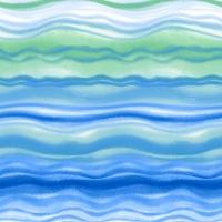 Servietten 33x33 cm - Blue waves