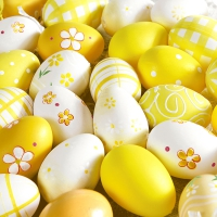 Servietten 33x33 cm - Yellow eggs