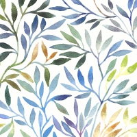 Servietten 33x33 cm - Willow leaves