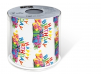 bedrucktes Toilettenpapier - Topi Happy B-day
