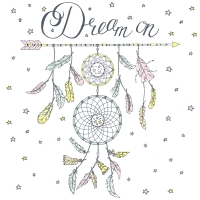 Servietten 33x33 cm - Dream on