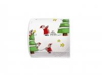 bedrucktes Toilettenpapier - Topi Santas so busy