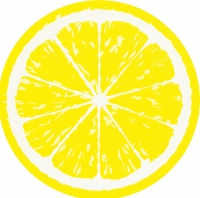 Gestanzte Servietten - Lemon