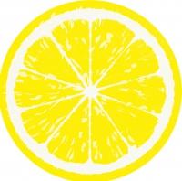 Gestanzte Servietten - Lemon