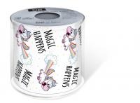 bedrucktes Toilettenpapier - Topi Magic happens