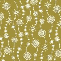 Servietten 33x33 cm - Chrystal waves gold