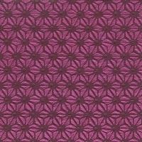 Servietten 33x33 cm - Moments Hamp leaf pattern red
