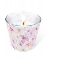 Glaskerze - Glaskerze Small blossoms