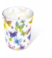 Glaskerze - Glaskerze Flying colours