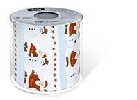 Toilettenpapier Topi santa and snowman