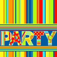 100 Servietten 33x33 cm - New Party