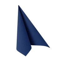 50 Servietten 25x25 cm - ROYAL Collection dunkelblau