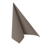 50 Servietten 33x33 cm - ROYAL Collection grau