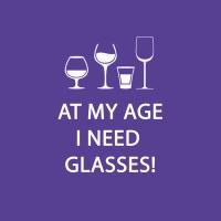 Cocktail Servietten Glasses