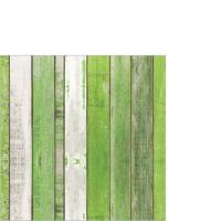 Servietten 25x25 cm - Weißwasser grün