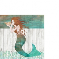 Servietten 25x25 cm - Waterside Mermaid