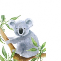 Servietten 25x25 cm - Tropical Koala Bear*