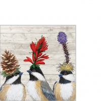 Servietten 25x25 cm - The Chickadee Sisters